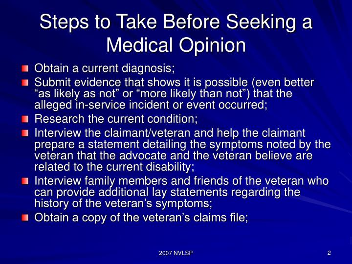 Steps to Take Before Seeking a Medical Opinion