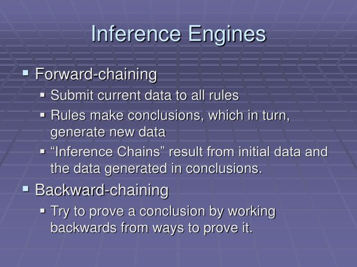 Inference Engines