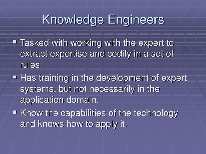 Knowledge Engineers