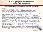 pte laying the groundwork for patent term restoration23