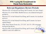 pte laying the groundwork for patent term restoration4