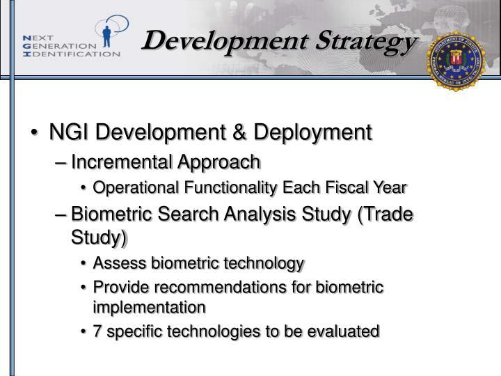 Development Strategy