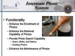 interstate photo system
