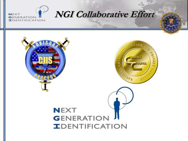 NGI Collaborative Effort
