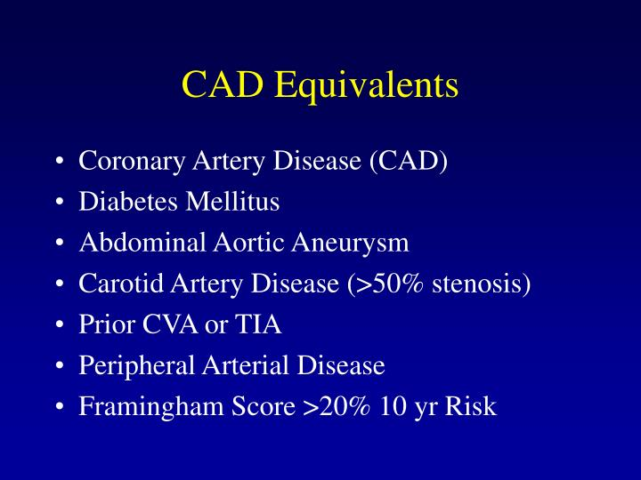 CAD Equivalents