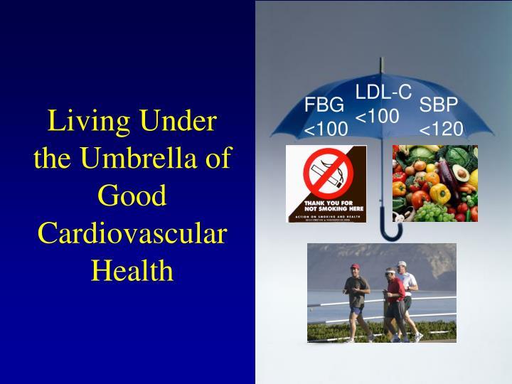 Living Under the Umbrella of Good Cardiovascular Health