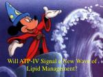 will atp iv signal a new wave of lipid management