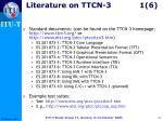 literature on ttcn 3 1 6