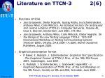 literature on ttcn 3 2 6
