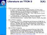 literature on ttcn 3 3 6