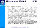 literature on ttcn 3 4 6