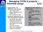 managing ttcn 3 projects potential usage 1 2