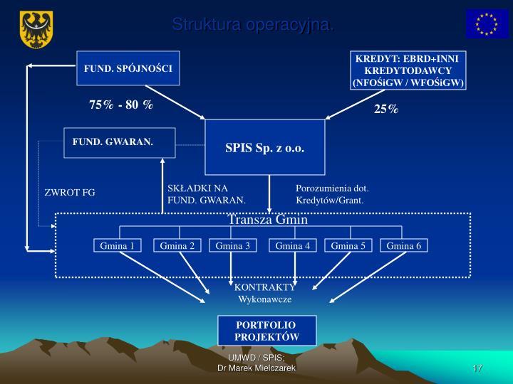Struktura operacyjna.