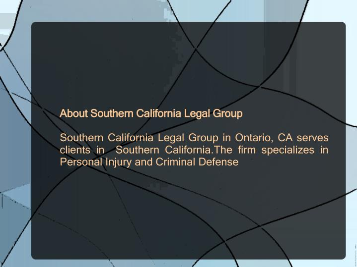About Southern California Legal Group