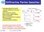 diffractive parton densities