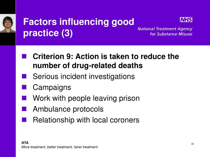 Factors influencing good practice (3)