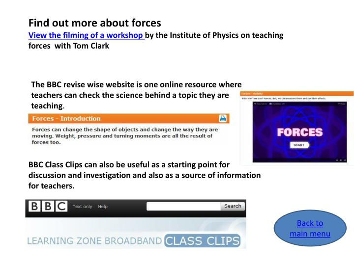 Find out more about forces