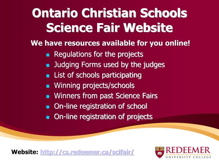 Ontario Christian Schools