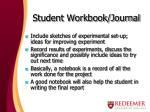 student workbook journal1