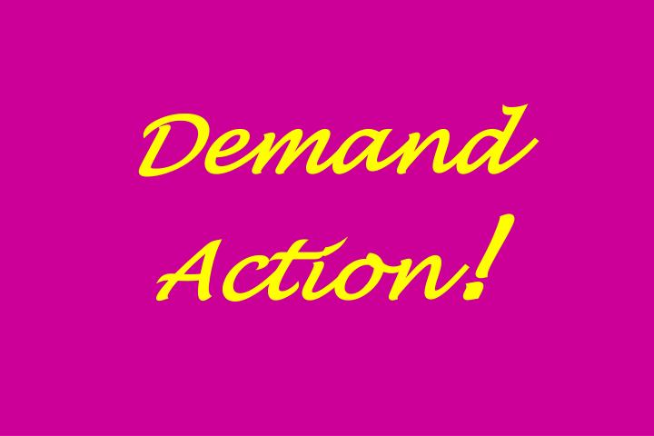 Demand Action