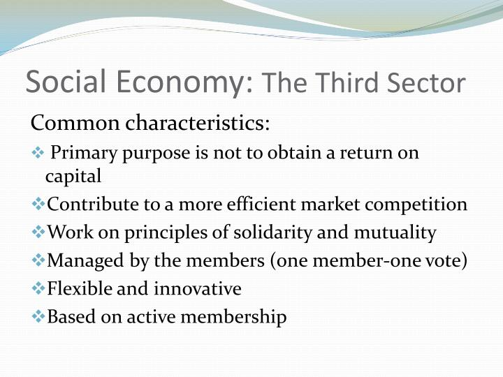 Social Economy: