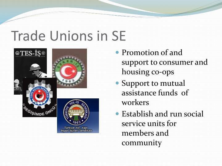 Trade Unions in SE