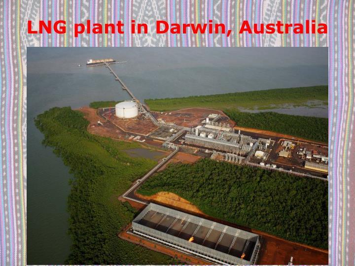 LNG plant in Darwin, Australia