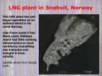 lng plant in sn hvit norway