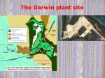 the darwin plant site