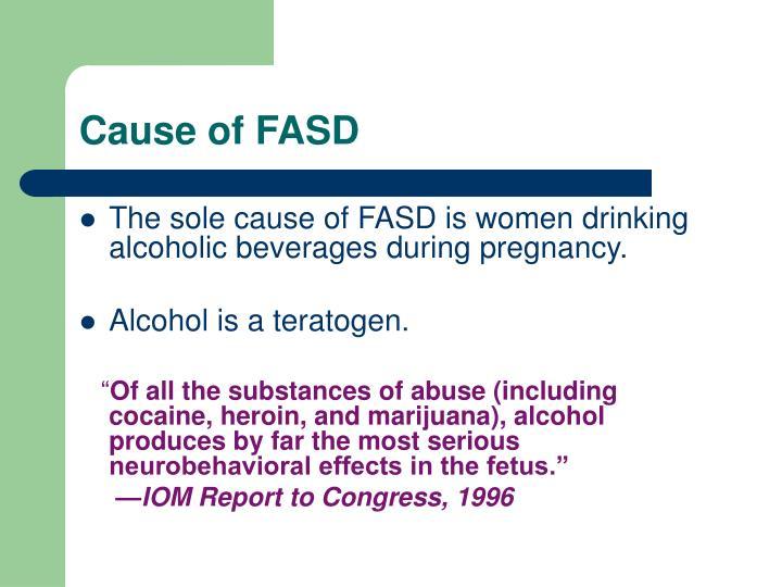 Cause of FASD