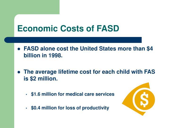 Economic Costs of FASD