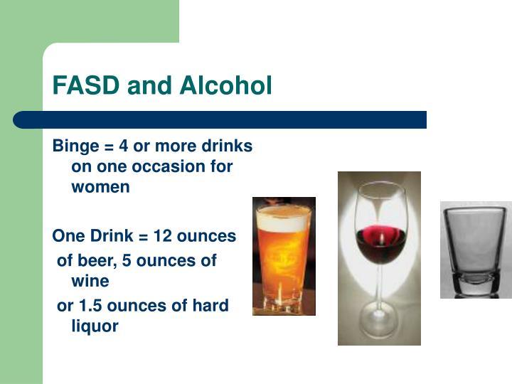 FASD and Alcohol