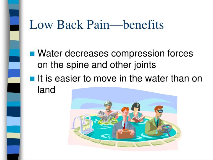 Low Back Pain—benefits