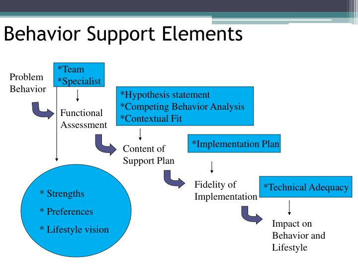 Behavior Support Elements