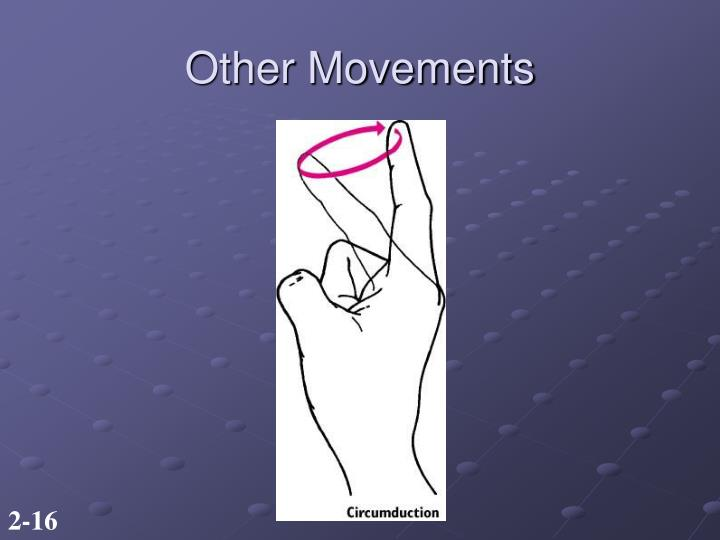 Other Movements