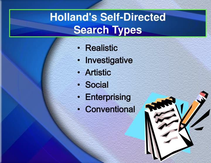 Holland's Self-Directed