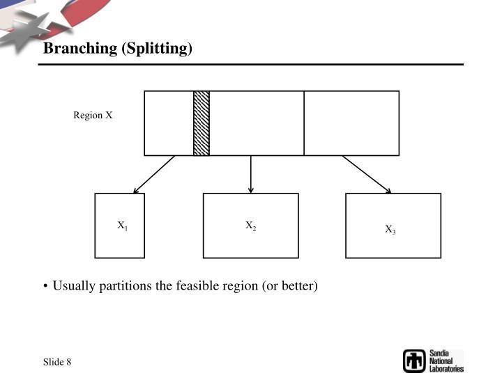 Branching (Splitting)