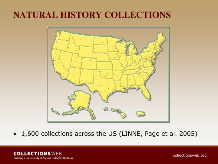 NATURAL HISTORY COLLECTIONS