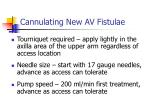 cannulating new av fistulae1