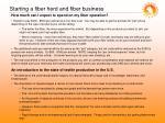 starting a fiber herd and fiber business1
