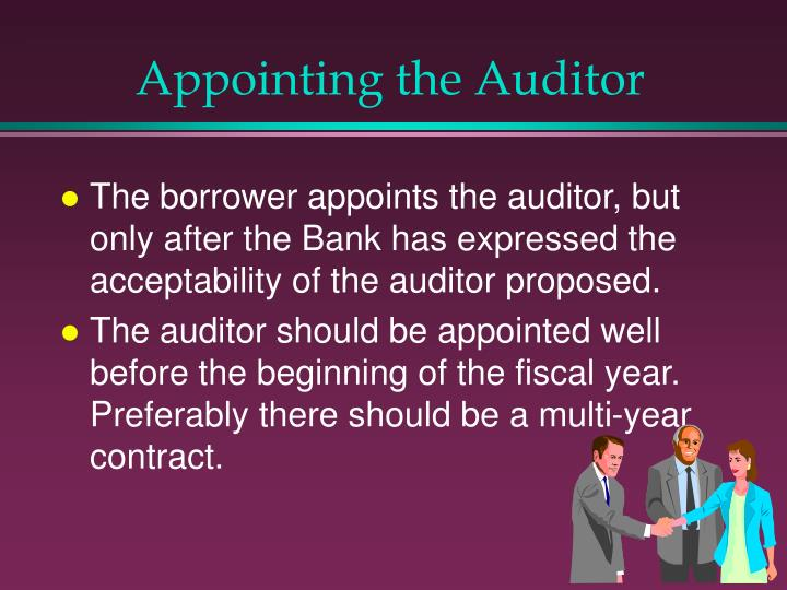 Appointing the Auditor