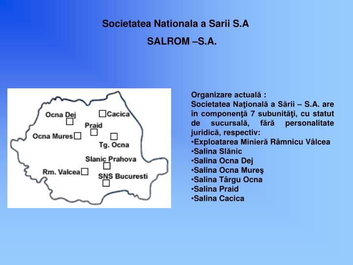 Societatea Nationala a Sarii S.A