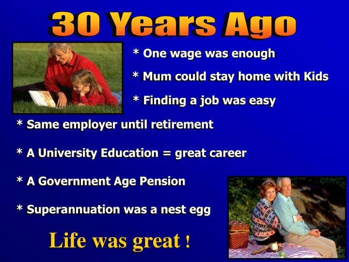30 Years Ago