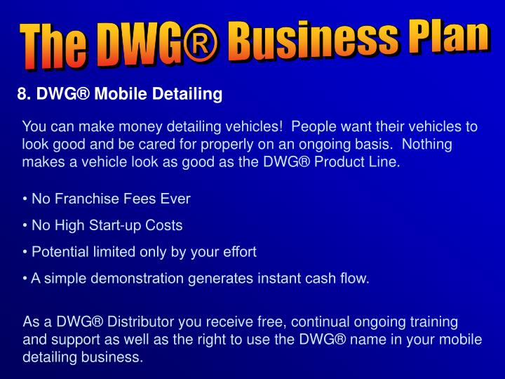 The DWG® Business Plan