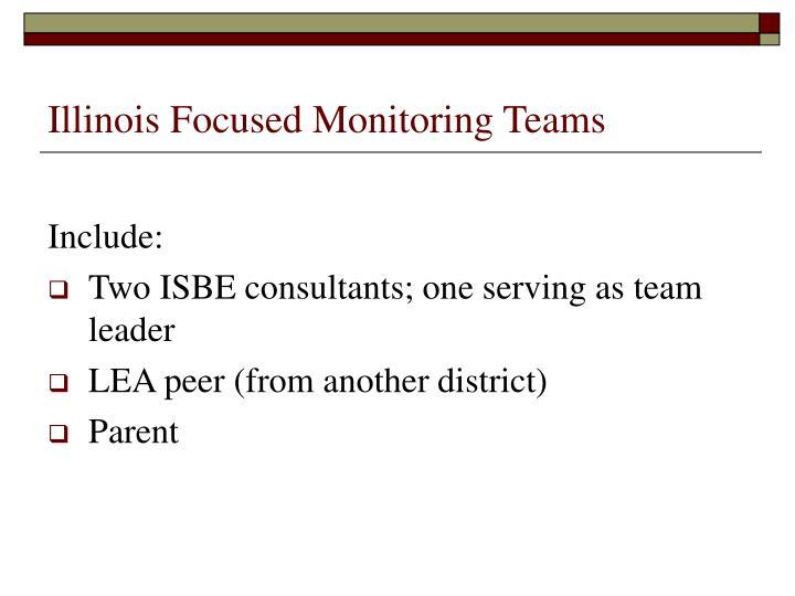 Illinois Focused Monitoring Teams