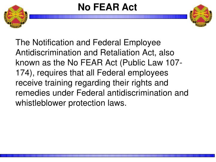 No FEAR Act