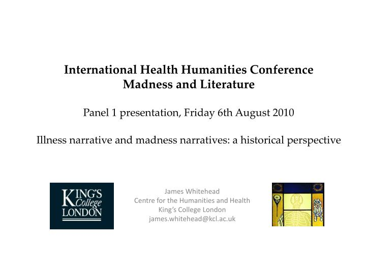 International Health Humanities Conference