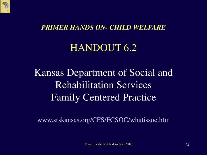 PRIMER HANDS ON- CHILD WELFARE