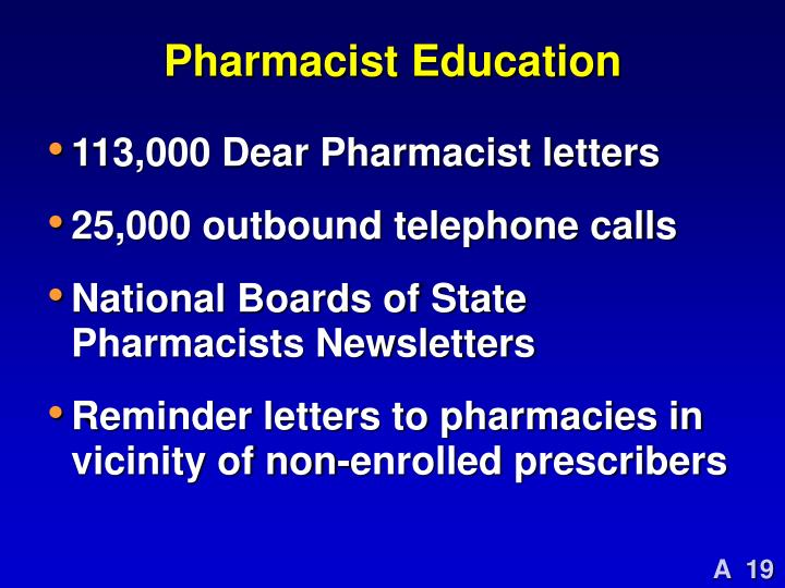 Pharmacist Education