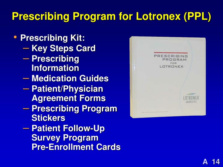 Prescribing Program for Lotronex (PPL)